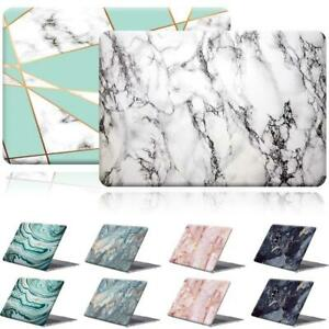 Marble Pattern Rubberized Cover Case For Apple Macbook air Pro 11 13 15 inch