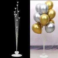 Plastic Balloon Table Support Holder Heart Cup Stick Stand Wedding Party Decor