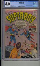 SUPERBOY #68 CGC 4.0 1ST BIZARRO SUPERMAN DC COMICS SILVER AGE