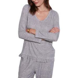 Tart Collections Jade Women's 2 Piece Striped Top and Jogger Pajama Lounge Set
