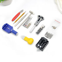 147Pcs Watchmaker Back Case Opener Watch Repair Tool Kit Remover Watch Accessory