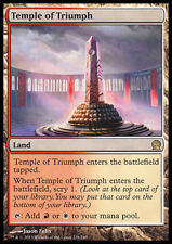MTG TEMPLE OF TRIUMPH FOIL EXC - TEMPIO DEL TRIONFO - THS - MAGIC