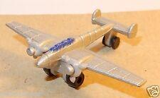 HERPA AIRCRAFT AVION PLANE MESSERSCHMITT BF 110 c gris argent