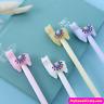 2x Kawaii Smile Alpaca Gel Pens ~ Llama Pen, Cute Pens, Funny Animals Stationery