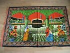 PRINT - KABAB PICTURES - WALL CARPET - 100x150 cm good condition and solid