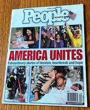 People Weekly Magazine October 1 2001 America United 9/11 World Trade Center