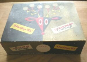 Xmas box of Dunlop 65s with all changing wrappers & labels through the '50s  +2