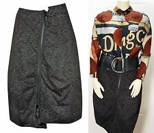 NEW WITH TAGS  RUNDHOLZ   BLACK LABEL TULIP SKIRT - ASYMMETRICAL ZIPPER -