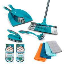 Beldray® COMBO-7057 Household Cleaning Set w/ Cloths & Anti-Bac Cleaning Pads