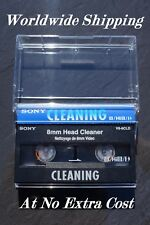Sony V8-6CLD 8mm Video Cleaning Cassette