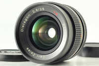 """Near MINT+++"" Contax Carl Zeiss Distagon T* 28mm F/2.8 MMJ MF Lens JAPAN #671"