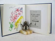 LE DUR DESIR DE DURER Paul Eluard Illustr. MARC CHAGALL Les Peintres du Livre