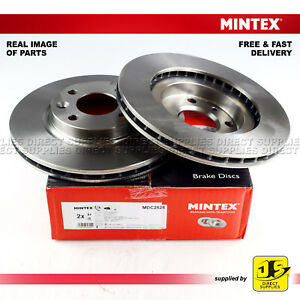 DACIA FOR RENAULT LOGAN TWINGO SMART MINTEX FRONT DISC BRAKES MDC2525 PAIR