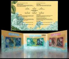 BRUNEI $1 $5 $10 Polymer Commemorative Banknote Identical Serial UNC W/Folder