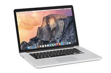 "Apple MacBook Pro 15"" Laptop 2014 A1398 Intel Core i7 16GB RAM 256GB SSD Mojave"