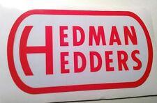 Hedman hedders sticker decal hot rod rat rod vintage look nostalgia drag race