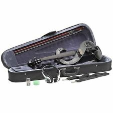 E-violino Stagg 4/4 Silentvioline Nero