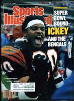 SPORTS ILLUSTRATED JANUARY 16 1989 ICKEY WOODS
