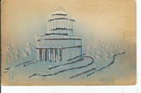 CI-006 NY, New York City, Grant's Tomb Mica Glitter Divided Back Postcard