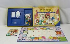 "Vintage Board Game ""Fat Cats"" A Whisker-Licking Game Of Speed and Strategy"