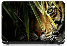 "Hidden Tigerl Laptop Skin 15.6"" - High Quality 3M Vinyl"