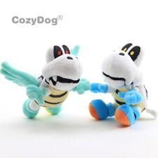 2x Super Mario Plush Parabones Winged Dry Bones Soft Toy Doll Stuffed Animal