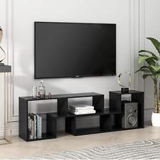Modern TV Console Stand, Entertainment Center Media Stand, Bookshelf, Storage,