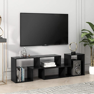 Modern TV Console Stand, Entertainment Center Media Stand, Bookshelf, Storage,