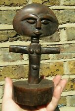Antique  Collectible Carving Wooden Ashanti Doll Acua'ba ceremonial