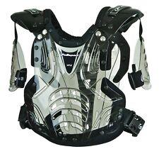 XP2 Junior STONE SHIELD MOTOCROSS BODY ARMOUR Armor Roost deflector Translucent