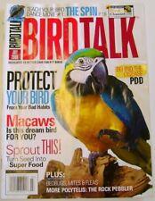 BIRD TALK MAGAZINE Jul 08 Hyacinth Scarlet Macaw Parrot PDD Virus Sprouts Dance