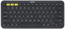 New Logitech K380 Black Multi-Device Bluetooth Keyboard