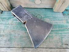 The old forged  Ax Axe hatchet  Made in Poland