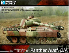 Rubicon Models 28mm 1/56 scale World War 2 German Panther Ausf. D/A tank model
