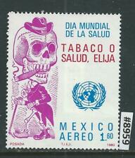 #8959 MEXICO Sc#C635 MNH Fight against Cigarettes 1980 Combine Shipping