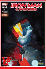IRON MAN & LES AVENGERS 1 01 Juin 2017 Marvel Now! now Panini MALEEV # NEUF #