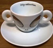 Illy Collection 2001 Rosenthal Alien Cups 1 Espressogedeck David Byrne Neu