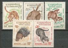 LAOS Scott # C47/51 MNH Set. Animals