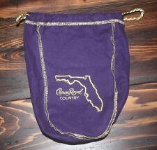 CROWN ROYAL COUNTRY FLORIDA BAG 750ml LIMITED EDITION SEAGRAMS WHISKY bar decor