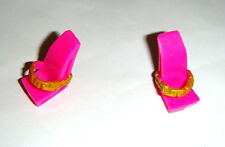 Monster High Doll Sized Pink Slippers Shoes/Heels For Monster High Dolls mh115