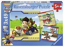 Ravensburger 09369 - Paw Patrol 3x49 Piece Jigsaw Puzzles