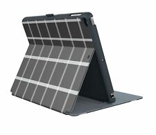 Speck Stylefolio iPad Air 2 Black and White Windowpane Plaid Case