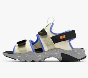 NIKE CANYON SANDAL Beach Trainers Casual - UK Size 10 (EUR 45) Fossil Cream