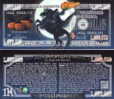Headless Horseman Million Dollar Fake Funny Money Gospel Tract Novelty Note