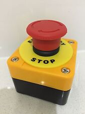 Complete Emergency Stop Control System with Turn-To-Release Pushbutton