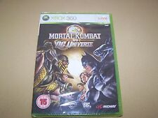 Mortal Kombat vs Dc Universe XBOX 360 ** NOUVEAU & Sealed **
