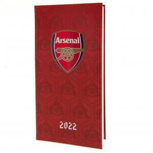 Arsenal FC Football Club Pocket 2022 Hardback Diary Week to View AFC EPL