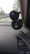 Focal PS165F3 , pods + Rings all black anodized  for Focal Mid and Tweeters