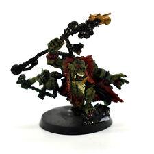 Warhammer 40K Space Ork Weirdboy Big Mek Metal oop Painted