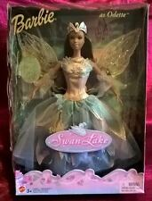 """2003 HTF African American Barbie as Odette from """"Swan Lake"""" with Light Up Wings"""